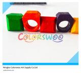 6 Scherpe Kleurpotloden van de Ring van de kleur 3D Creatieve voor Studenten en Jonge geitjes