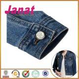 De Knopen van het Metaal van de legering met Witte Kleur voor Jeans