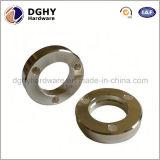Peças de giro fabricadas costume do alumínio de bronze do CNC OEM/ODM da precisão