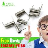 カスタム金属の螺線形の調節可能なステンレス鋼のねじりばね