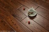 Рука высокого качества античная выскабливая естественный реальный деревянный пол