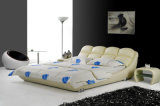 Bâti en cuir adulte de modèle moderne de meubles neufs de chambre à coucher (HC170)