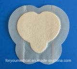 Foryouの医学の2016年のFDAの公認の付着力のドレッシングは滲出の傷のためのパッドに服を着せる吸収性のシリコーンの泡を温和にする