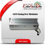 CATV Analog 24 in 1 Modulador fijo de combinador de canales adyacentes