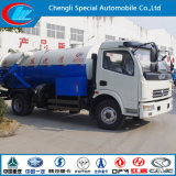 3cbm 5cbm 4X2 Dongfeng Vacuum Sewage Jetting Truck