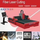 Machine de découpage à grande vitesse de laser de commande numérique par ordinateur, machine de gravure de laser