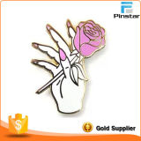 Your Chest、Delicate Metal Lapel Pin Badge、Factory Direct SaleのBeautifull Flower