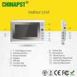 Wohnung 7 Zoll-Bildschirm-videowechselsprechanlage-Türeinstieg-System (PST-VD906C)
