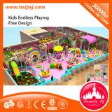 Equipo suave de interior de lujo del patio de los niños del juego para la venta