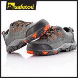 Zapatos de seguridad de acero de la protección del dedo del pie de la explotación minera Alemania
