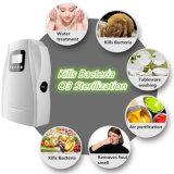 500mg / H Ciclo de Trabajo de ozono generador portátil purificador de aire para Hortalizas Frutas Agua