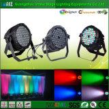 Iluminación excelente 54PCS 3W 3 en 1 luz impermeable de la IGUALDAD