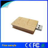USB de madeira Pendrive da forma do livro da amostra livre