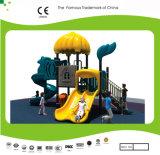 Equipamento bonito do campo de jogos da corrediça das crianças de Foof do castelo do grupo de Kaiqi
