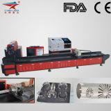 Автомат для резки лазера квадрата пробки яркия блеска CNC