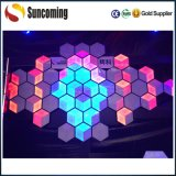 RGB 3 en 1 boda Panel Decoración de pared LED 3D