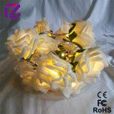 Luz de la flor de Rose, flor de la iluminación del LED, luz de la decoración
