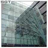Tempered de vidro/vidro temperado da construção para a tela do hotel