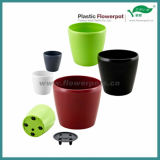 Ronde en plastique Jardinière avec intercalaire (KD3831N-KD3836N)