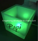 플라스틱 LED Square Ice Cream Buckets 또는 Beer를 위한 Plastic Bucket