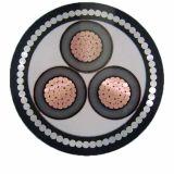 Кабель электрического кабеля низкого напряжения тока трехфазный изолированный XLPE/PVC