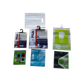 Sac de empaquetage transparent pour la robe/sous-vêtements, sachets en plastique pour des vêtements