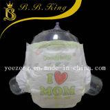 Сухие пеленки младенца поверхностного поглощения в штоке