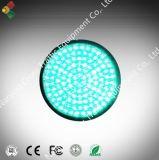 Módulo de luz de señal de tráfico 200mm Telaraña lente verde de la bola
