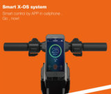 Foldable電気3つの車輪の小型スクーター