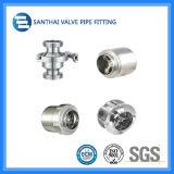 Задерживающие клапаны сварки Ss304 Ss316L материальные санитарные