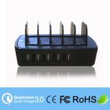 Multi-Function 5 Ports Chargeur Portable USB pour Smartphone, iPad (LC-CR560)