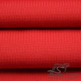 Wasser u. Wind-Beständige im Freien Sportkleidung-unten Umhüllung gesponnenes Plaid u. punktiertes Jacquardwebstuhl-Polyester-Rohseide-Gewebe 100% (E030)