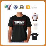 印刷を用いる100綿の選挙のワイシャツ