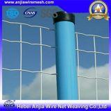 Cancello rivestito della rete fissa della rete metallica della polvere per industriale