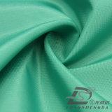 Agua y de la ropa de deportes tela tejida chaqueta al aire libre Viento-Resistente 100% del poliester del filamento del telar jacquar de la tela cruzada abajo (53108B)