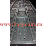 Galvanisiertes Hole Type Scaffold Steel Planks für Construction Roll Forming Making Machine der Iran