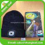 Chapéu feito malha diodo emissor de luz elegante do acrílico da alta qualidade 100% (SLF-LH001)