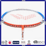 Raqueta de bádminton popular al por mayor china de la aleación de aluminio del carbón