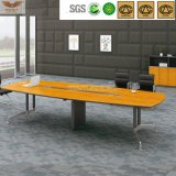 Tabela de madeira da sala de reuniões do painel da grão de bambu contínua (HY-60-0303)