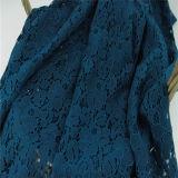 Guipure al por mayor de algodón tela de encaje (6219)
