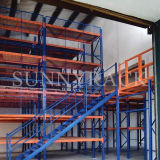 Assoalho de mezanino resistente de aço do armazenamento do armazém da alta qualidade