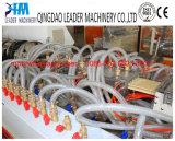 Kurbelgehäuse-BelüftungWPC hölzerne Plastikdecking-Profile, die Maschine herstellen