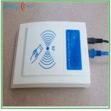 Lector de tarjetas del control de acceso RFID del rango de la proximidad del programa de lectura de la red del interfaz del TCP/IP