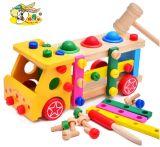 Деревянный автомобиль инструментов комплектов ек разнообразия малышей