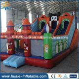 Château plein d'entrain de vente de PVC de jouet de cadeau de cavalier gonflable chaud de constructeur