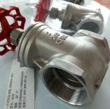 Válvula de puerta del acero inoxidable de CF8/CF8m Pn16 200wog Bsp/NPT