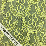 Шикарная флористическая конструкция ткани шнурка