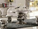 Moderner Esszimmer-runder Tisch und Stuhl-Möbel gesetztes A8063