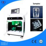 máquina de vidro da gravura fotográfica da foto 3D para a impressão de cristal