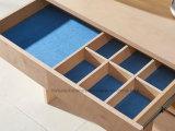 Tableau de rectification clair UV de laque de Matt de placage en bois extensible de bouleau (AD-FY-N1012-CTG)
